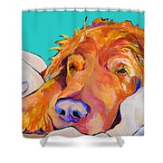 Snoozer King Shower Curtain