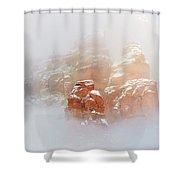 Snow 07-099 Shower Curtain