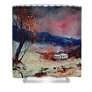 Snow 569020 Shower Curtain