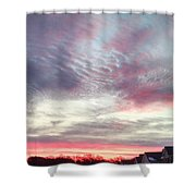 Snow Approaching Shower Curtain
