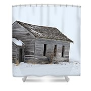 Snow Bound Shower Curtain
