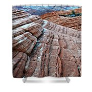 Snow Canyon Utah 2 Shower Curtain