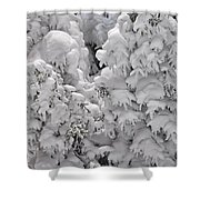 Snow Coat Shower Curtain