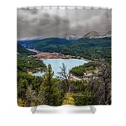 Snow Coming Shower Curtain