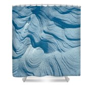 Snow Shower Curtain
