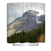 Snow Kissed Giant Shower Curtain