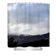 Snow Line Shower Curtain