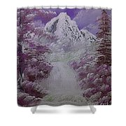 Snow Magic Shower Curtain