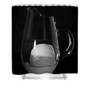 Snow Melting 5 Of 8 Shower Curtain