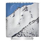 Snow Moon Shower Curtain
