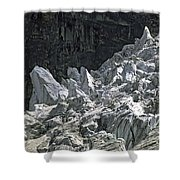 Snow Patch Spire IIi Shower Curtain
