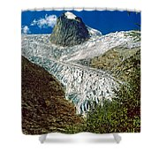 Snow Patch Spire Shower Curtain