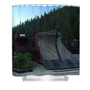 Snow Plow Shower Curtain