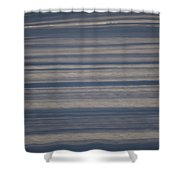 Snow Ribbons Shower Curtain