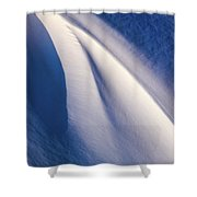 Snow Shapes Xix Shower Curtain