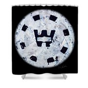 Snow Spirit Shower Curtain