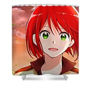 Snow White With The Red Hair Shower Curtain