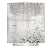Snowbirds 2 Shower Curtain