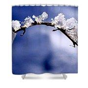 Snowbridge #5 Shower Curtain