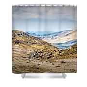 Snowdonia Landscape Shower Curtain