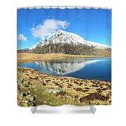 Snowdonia Panorama Shower Curtain