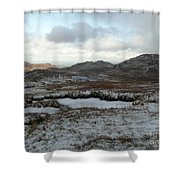 Snowdonia, Wales Shower Curtain