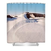 Snowdrift  Shower Curtain