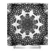 Snowflake 13 Shower Curtain