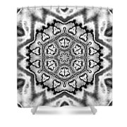Snowflake 7 Shower Curtain
