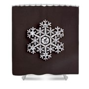snowflake II Shower Curtain