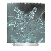 Winter's Perfect Gift Shower Curtain