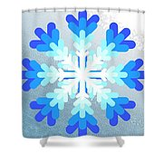 Snowflake Pile 2 Shower Curtain