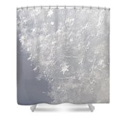 Snowflakes From Heaven 1 Shower Curtain
