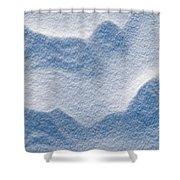 Snowforms 3 Shower Curtain