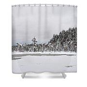 Snowscape Shower Curtain