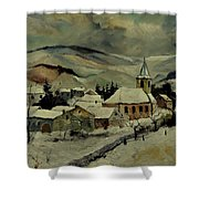 Snowy Landscape 780121 Shower Curtain