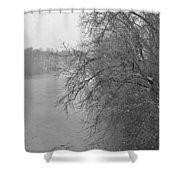 Snowy River        Landscape          Indiana Shower Curtain