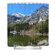 Snyder Lake Shower Curtain
