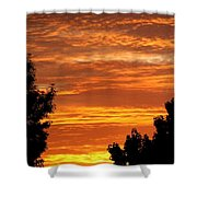 So Cal Sunset Shower Curtain