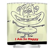 So Happy Shower Curtain
