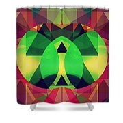 So High On Colors Shower Curtain