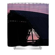 So Little Time Shower Curtain