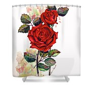 So Red Shower Curtain
