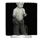 So She May Live Free Shower Curtain