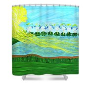 So Wrapped Up In You Shower Curtain