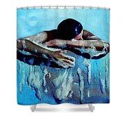 Soap Bubbles Shower Curtain