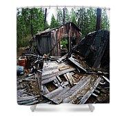 Soap Creek Debris, Real Estate Series Shower Curtain