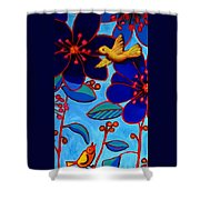 Soaring And Blooming Shower Curtain