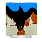 Soaring Raptor Shower Curtain