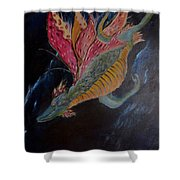 Soaring Through The Sky Shower Curtain